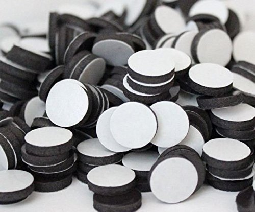 Flexible Magnets 3/4 Round Disc with Adhesive Backing - 60 Pcs -