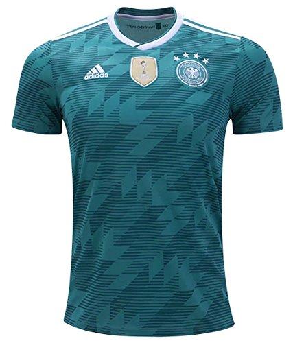 (adidas Germany Away Youth Soccer Jersey World Cup Russia 2018 (YL))
