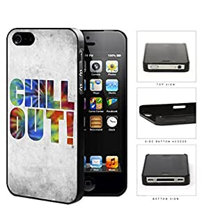 Chill Out Grunge Tie Dye Hard Plastic Snap On Cell Phone Case Apple iPhone 4 4s