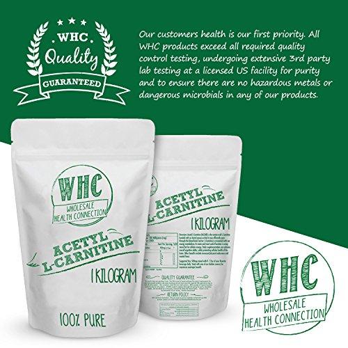 Acetyl L Carnitine (ALCAR) Powder | Nootropic | Cognitive Enhancer | Improved Memory | Mood Support | Increased Metabolism | Muscular Endurance | Reduce Fatigue