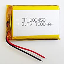 FidgetFidget 3.7V 1500mAh Lipo Rechargeable Battery for PAD Tablet PC Power Bank GPS 803450