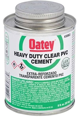 new-oatey-30863-fresh-can-8oz-heavy-duty-clear-pvc-pipe-glue-cement-6597678