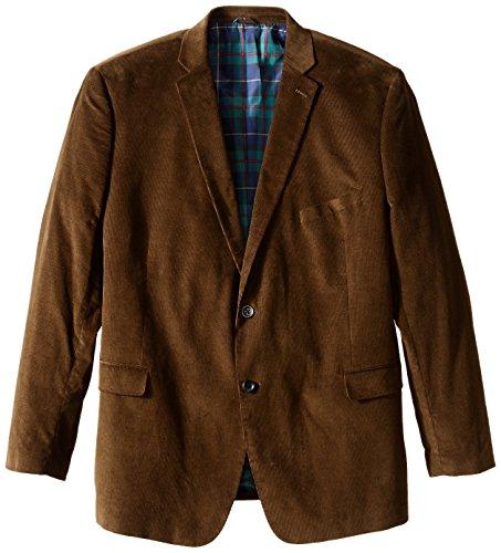 U.S. Polo Assn. Men's Big-Tall Big and Tall Cotton Corduroy Sport Coat, Taupe, 54 Long