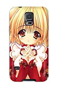 Awesome Anime Girls 8 Flip Case With Fashion Design For Galaxy S5