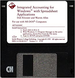 Integrated Accounting for Windows with Spreadsheet