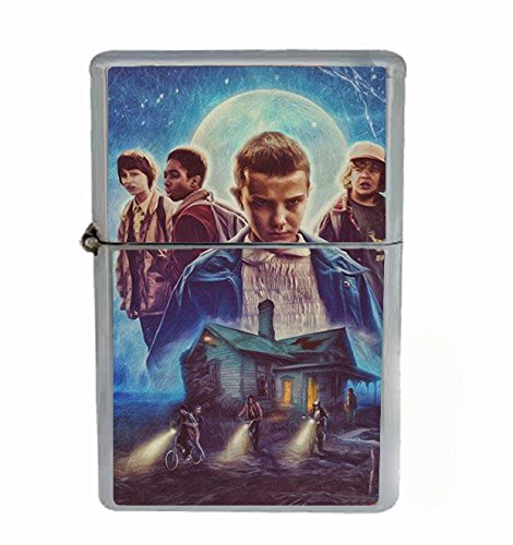 Price comparison product image Stranger Things Scary 80's Flip Top Oil Cigarette Lighter