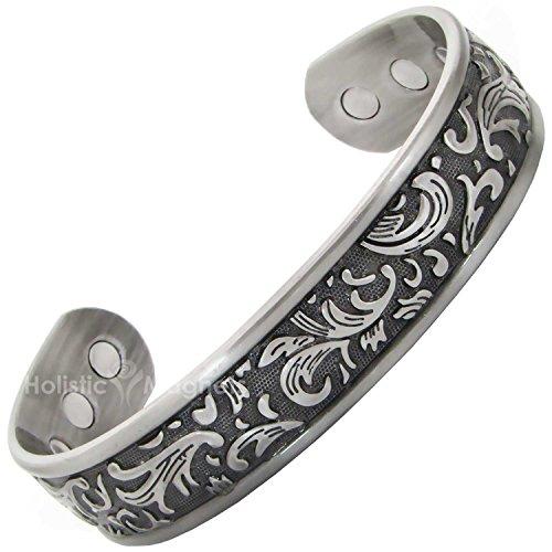 Bracelets Arthritis Magnetic Tendonitis Bracelet Silver