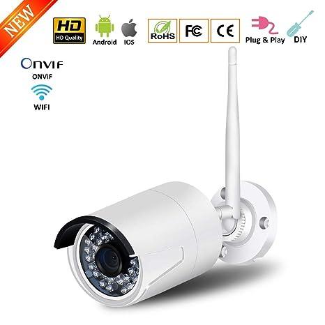 ZDNP Cámara IP de Seguridad HD 720P para el hogar, Tarjeta ...