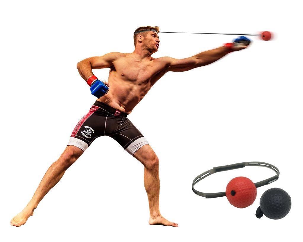 【セール 登場から人気沸騰】 Swift B07CNLH8NL Knockoutトレーニングボクシングヘッドバンド&ボールセット Swift B07CNLH8NL, 丸久金物:4050930d --- a0267596.xsph.ru