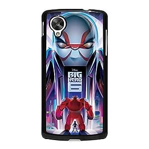 Attractive Style Vivid Design Cartoon Big Hero 6 Phone Case for Google Nexus 5 Comic Big Hero 6 Cover Case