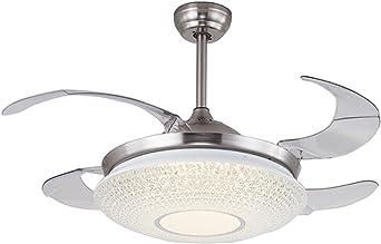 Lámpara de ventilador LED con mando a distancia de 122 cm para ...