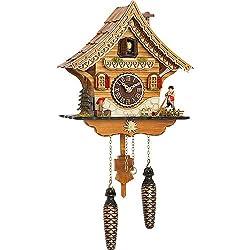 Trenkle Quartz Cuckoo Clock Swiss house with music TU 4204 QM