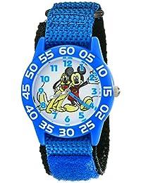 Kids' W001655 Mickey Mouse Analog Display Analog Quartz Blue Watch