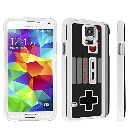 DuroCase ® Samsung Galaxy S5 Hard Case White - (Game Controller)