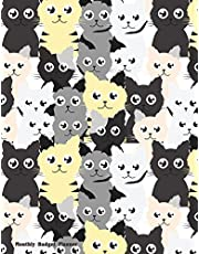 Monthly Budget Planner: Weekly & Monthly Expense Tracker Organizer,Budget Planner and Financial Planner Workbook ( Bill Tracker,Expense Tracker,Home Budget book / Extra Large ) Much Cat Cover
