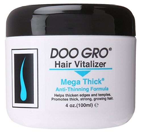DOO GRO Hair Vitalizer Mega Thick , 4 oz (Pack of 3)