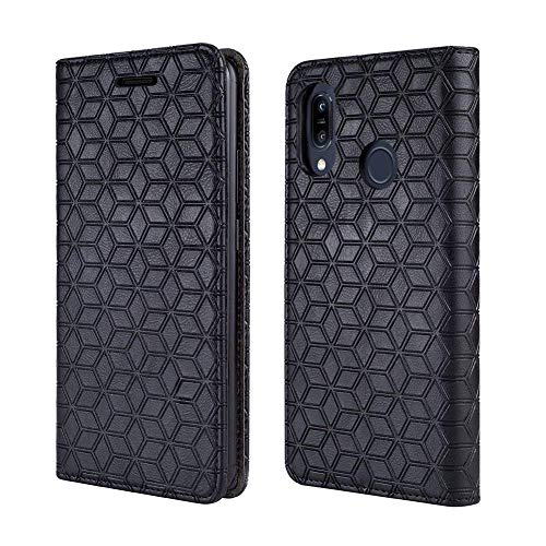 BLU Advance A6 2018 Case, BLU Vivo GO Case [Kickstand] [Card Slot+Side Pocket] Premium Soft PU Color Matching Leather Wallet Cover Flip Case Protective Case BLU Advance A6(2018) (Black)