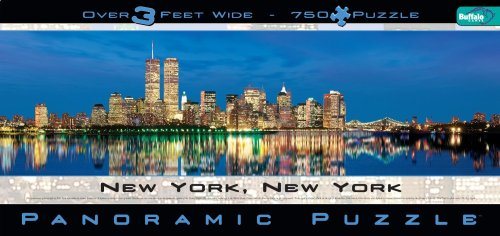 New York, New York Panoramic Puzzle (New York Puzzles)