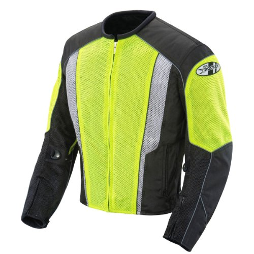 - Joe Rocket Phoenix 5.0 Mens Neon/Black Mesh Motorcycle Jacket - Large