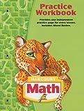 Harcourt School Publishers Math: Practice Workbook Student Edition Grade 5