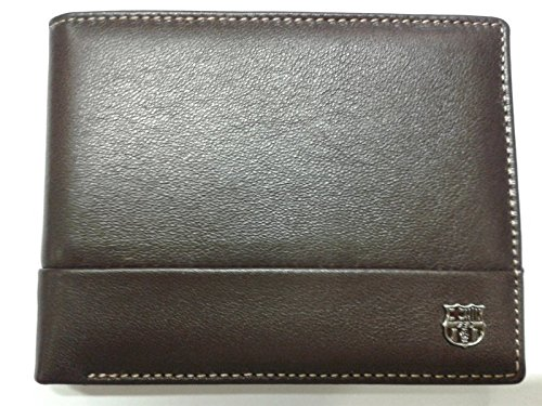 d4cb4220d REGALOS LLUNA CARTERA PIEL F.C.BARCELONA (MARRÓN C/MONEDERO): Amazon ...