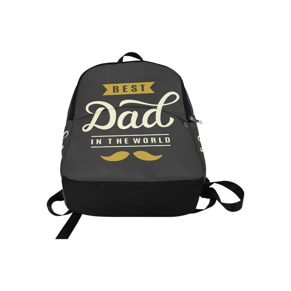 44603facb63e Amazon.com: JXCSGBD Best Dad World Hand Lettering Fathers Casual ...