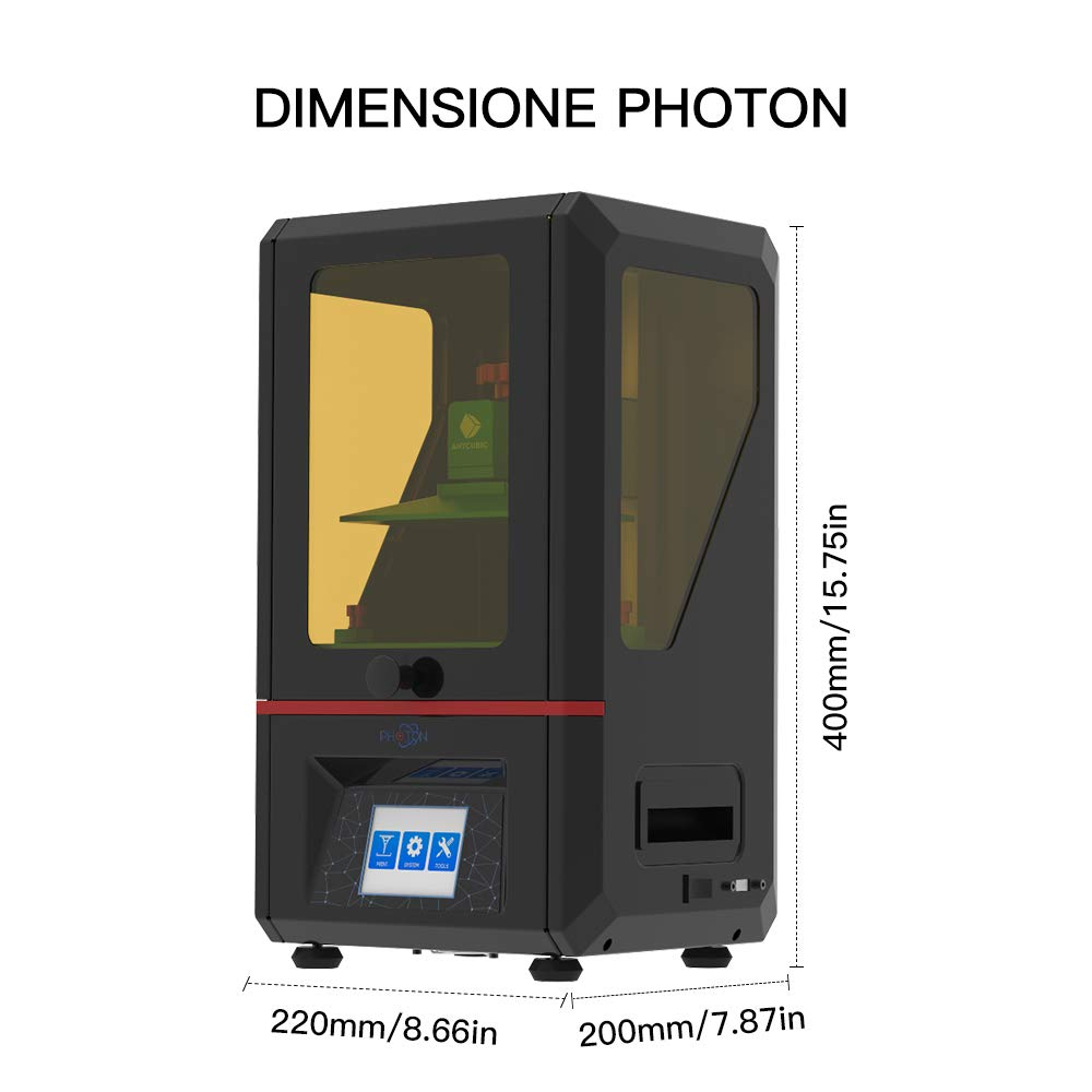 ANYCUBIC Photon Impresoras 3D Printer with 2.8 Smart Touch Color ...
