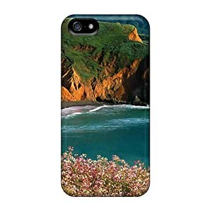 Awesome Design Beautiful High Sea Coast Hard Case Cover For Iphone 5/5s by icecream design