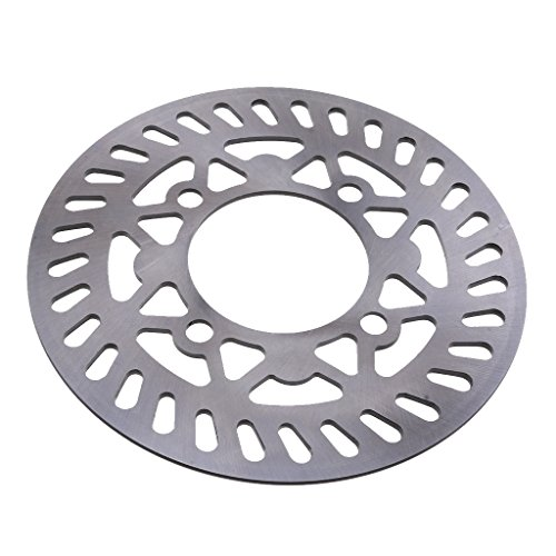 MagiDeal 210mm Rear Brake Caliper Disc Rotor Fit For Pit Pro Trail Quad Dirt Bike ATV by Unknown