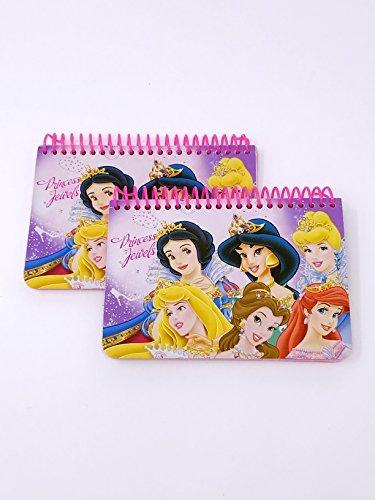 Princess Autograph Spiral Book 2 pc, Pink