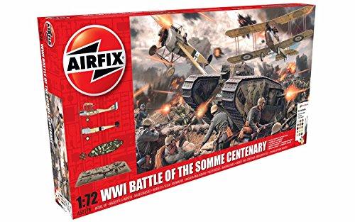 Airfix Battle of the Somme Centenary 1:72 Plastic Model Gift Set