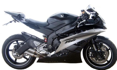 Yamaha R6 2006-2013 GPR Exhaust Systems Thunder Slash Road Legal Slipon Muffler Arrow Exhaust R6