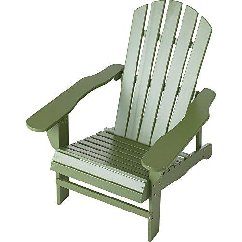 UPC 726884400018, Classic Sage Painted Wood Adirondack Chair