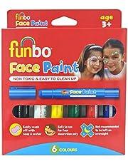 Face Paint Sticks 6g PK = 6 cols