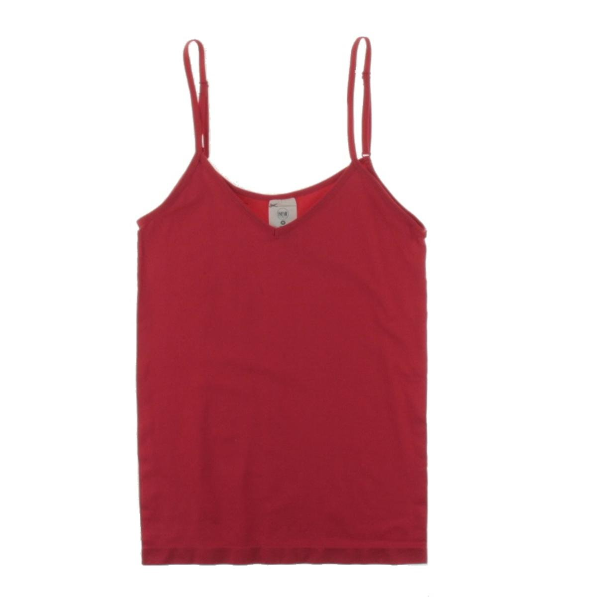 Energie Womens Juniors Cami Layering Tank Top Red M 60332122