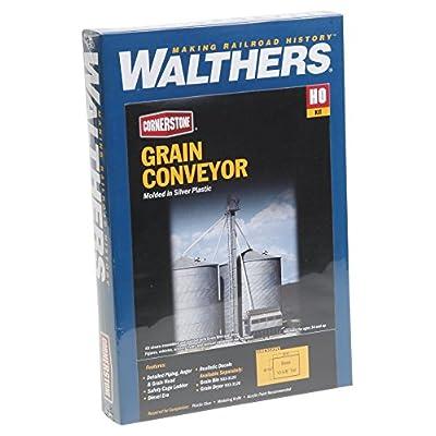 Walthers Corn 933–3124–Silverstone de céréales förderband, des Bâtiments