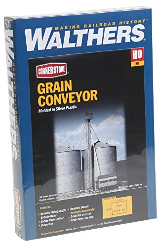 Walthers Cornerstone HO Scale Grain Conveyor Kit (Conveyor Kit)