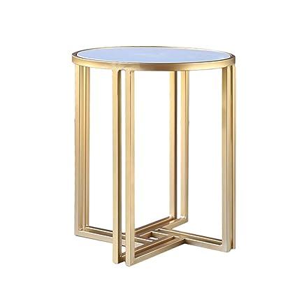 Amazon Com Glj Nordic Coffee Table Marble Sofa Side Table Simple