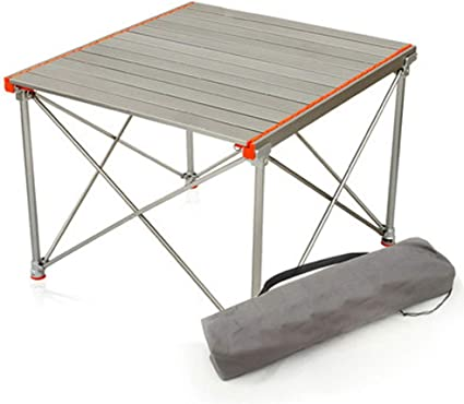 Mesa de Camping portátil Mesa Plegable Al Aire Libre con Bolsa De ...