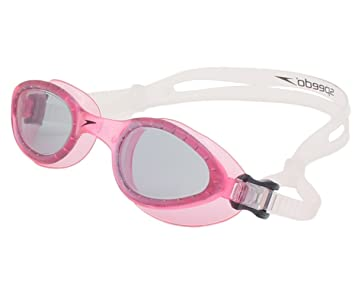 ca8c6900e2e Buy Speedo Women s AD Curved Pink Lens Hydrospex Swimming Goggle Anti-Fog  System by Speedo Online at Low Prices in India - Amazon.in