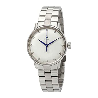 c35286f0d Image Unavailable. Image not available for. Color: Rado Coupole Classic S  Automatic Diamond Silver Dial Ladies Watch R22862783