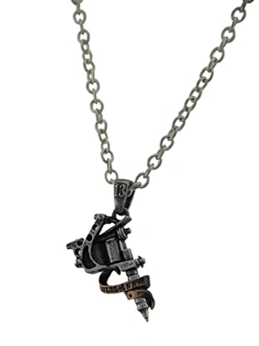 Amazon ul1317 ulp9 tattoo gun pendants jewelry jewelry ul1317 ulp9 tattoo gun pendants jewelry aloadofball Images
