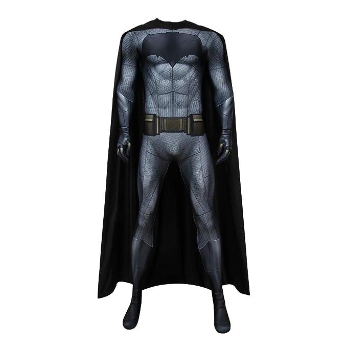 Amazon.com: Coskey Disfraz de Batman para hombre con Capa ...