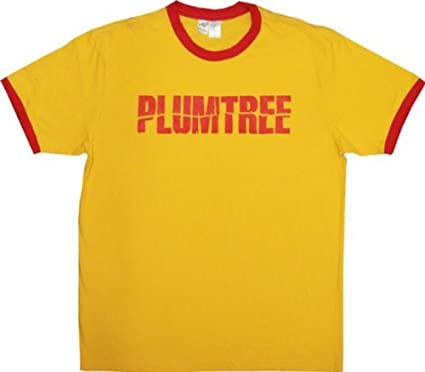 b8f09c4b9ee Plumtree Scott Pilgrim Band Logo Gold T-shirt tee  Amazon.co.uk  Clothing