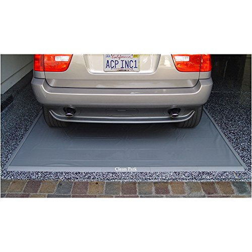Auto Care Products 70718 Clean Park 7.5' x 18' Heavy Duty Garage Mat with 50-mil Vinyl Sheeting by Auto Care Products Inc. (Image #2)
