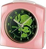 【シチズン/リズム時計】【CITIZEN】ワンピース目覚まし時計 ピンク アナログ トニートニー・チョッパー 4SE436MN13