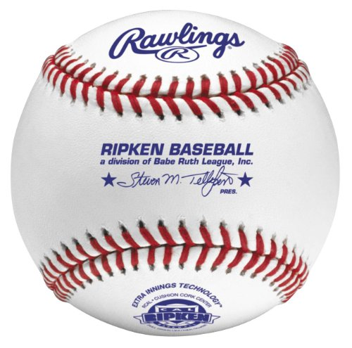 (Rawlings Raised Seam Tournament Grade Cal Ripken Baseballs, 12 Count, RCAL )