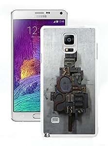 Custom-ized Merry Christmas White Samsung Galaxy Note 4 Case 1