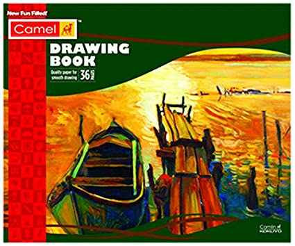 Camel Drawing Book - 36 Pages 27 5x34 7cm