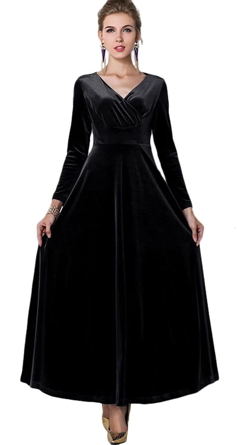 Black Gowns with Sleeves